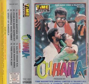 Chhaila Hindi Film Audio Cassette by Ilayaraaja www.mossymart.com 1