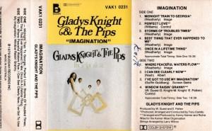 Gladys Knight & The Pips English album Audio Cassette www.mossymart.com 1