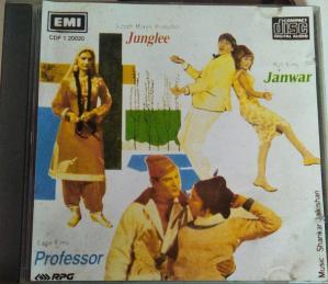 Junglee -Janwar- Professor Hindi Film Audio CD www.mossymart.com 2