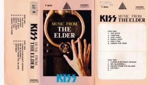 Kiss Music from the Elder English Album ( western music) www.mossymart.com 1