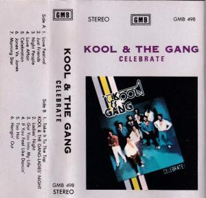 Kool & The Gang celebrate English album Audio Cassette www.mossymart.com 1