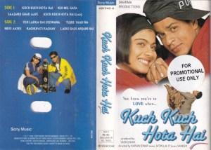 Kuch Kuch hota hai Hindi Film Audio Cassette www.mossymart.com 1