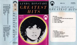 Linda Ronstadt Greatest Hits English album Audio Cassette www.mossymart.com 1