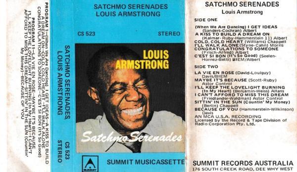 Louis Armstrong English album Audio Cassette www.mossymart.com 1