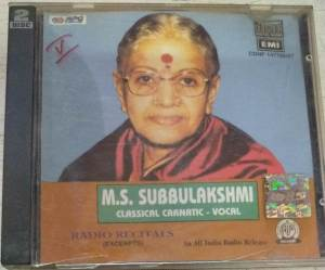 M S Subbulakshmi Classical Carnatic Vocal Tamil Film Audio CD www.mossymart.com 2