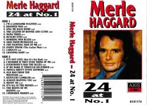 Merle Haggard English album Audio Cassette www.mossymart.com 1