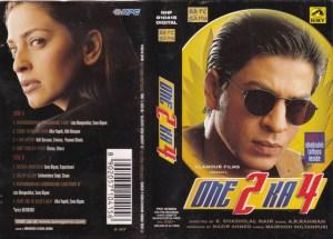 One 2 Ka 4 Hindi Film Audio Cassette by AR Rahman www.mossymart.com 1