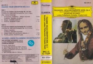 Paganini Violinkonzerte English Album ( western music) Audio Cassette www.mossymart.com 1