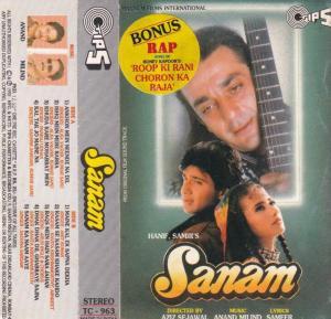 Sanam Hindi Film Audio Cassette by Anand milind www.mossymart.com 1