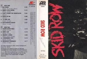 Skid Row English Album ( western music) Audio Cassette www.mossymart.com 1
