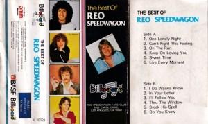 The Best Of Reo Speedwagon English album Audio Cassette www.mossymart.com 1