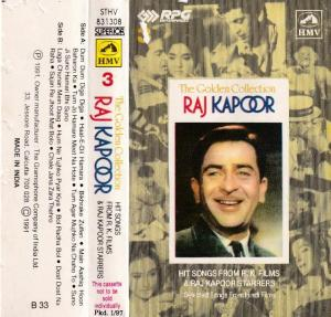 The Golden Collection Hindi Film hits Audio Cassette by Rajkapoor www.mossymart.com 1
