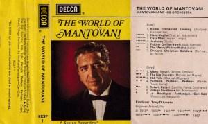 The World Of Mantovani English album Audio Cassette www.mossymart.com 1