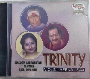 Trinity - Violin- Veena- Sax Classical Audio CD www.mossymart.com 1