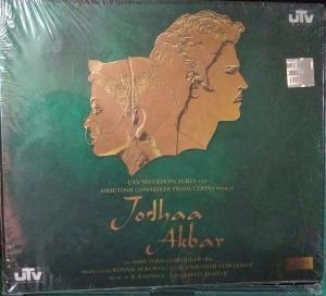 Jodhaa Akbar Hindi Film Audio CD by A R Rahman www.mossymart.com 1