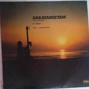 Narayaneeyam Sanskrit devotional LP Vinly record by P Leela - V Dakshinamoorthy wwww.mossymart.com 1