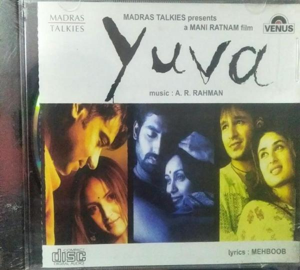 Yuva Tamil Film Audio CD by AR Rahman www.mossymart.com 1