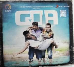Goa Tamil Film Audio CD by Yuvan Shankar Raja www.mossymart.com 1
