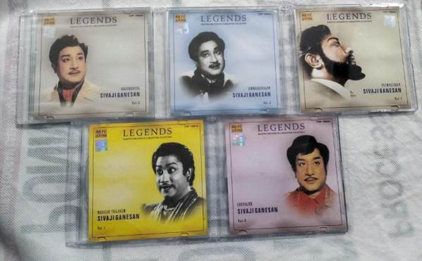 Legends Maestro Melodies in a Milestone Collection from Sivaji Starrer film Tamil Audio CD www.mossymart.com 3