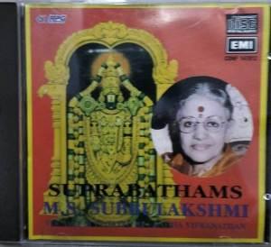 Suprabhathams Audio CD by M S Subbulakshmi www.mossymart.com 1