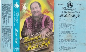 Hindi FIlm hits Audio Cassette by Mohd . Rafi www.mossymart.com 1
