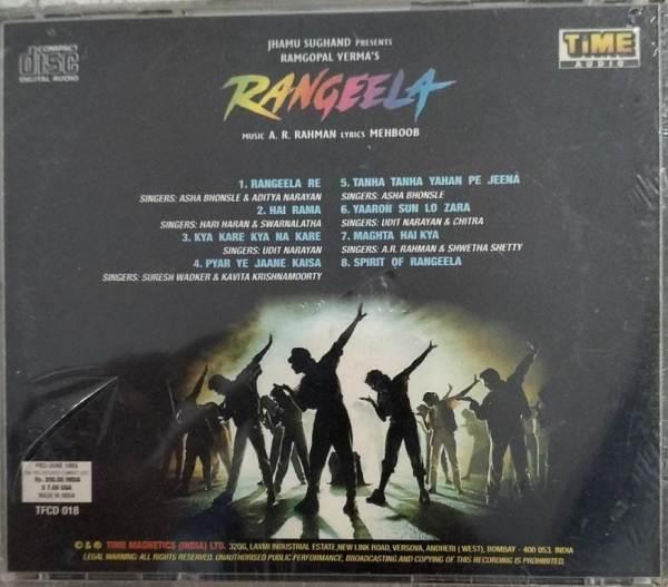 Rangeela Hindi Film Audio CD by AR Rahman www.mossymart.com 1