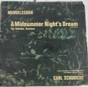 A Midsummer Night's Dream English Album LP Vinyl Record www.mossymart.com 1