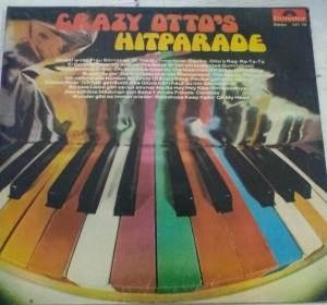Crazy Otto's Hitparade English -Western Album LP Vinyl Record www.mossymart.com 1