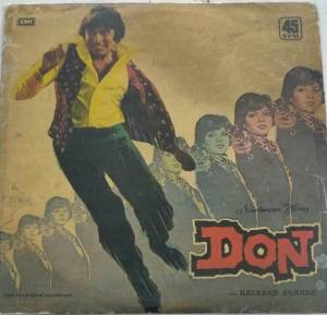 Don Hindi Film LP Vinyl Record by Kalyanji Anandji www.mossymart.com 1