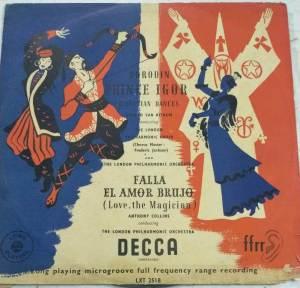 Falla El Amor Brujo English ALbum LP Vinyl Record www.mossymart.com 1