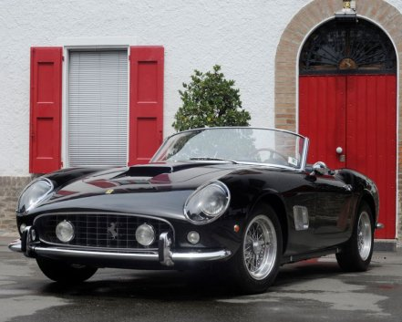 World's Most Expensive Ferraris - James Coburn's 1961 Ferrari 250 GT SWB California Spyder