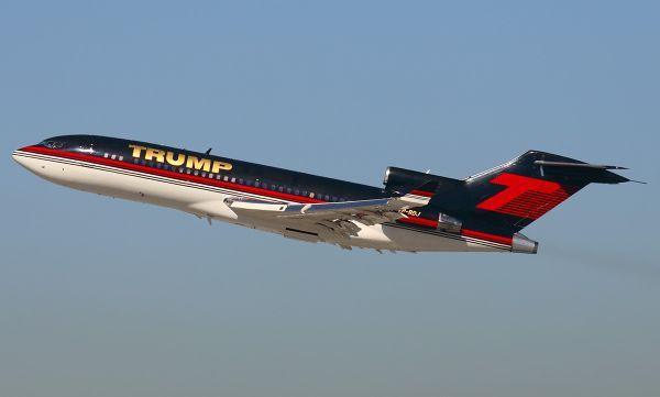 Boeing-727-23-Donald-Trump