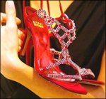 Most expensive women's shoes - Stuart Weitzman's Ruby Slippers
