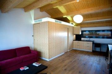 El Poal - Interior, cuina i sala d'estar