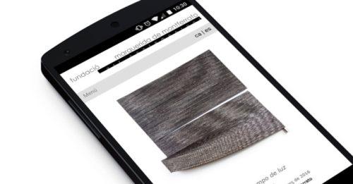web mòbil fundació marguerida de montferrato inici