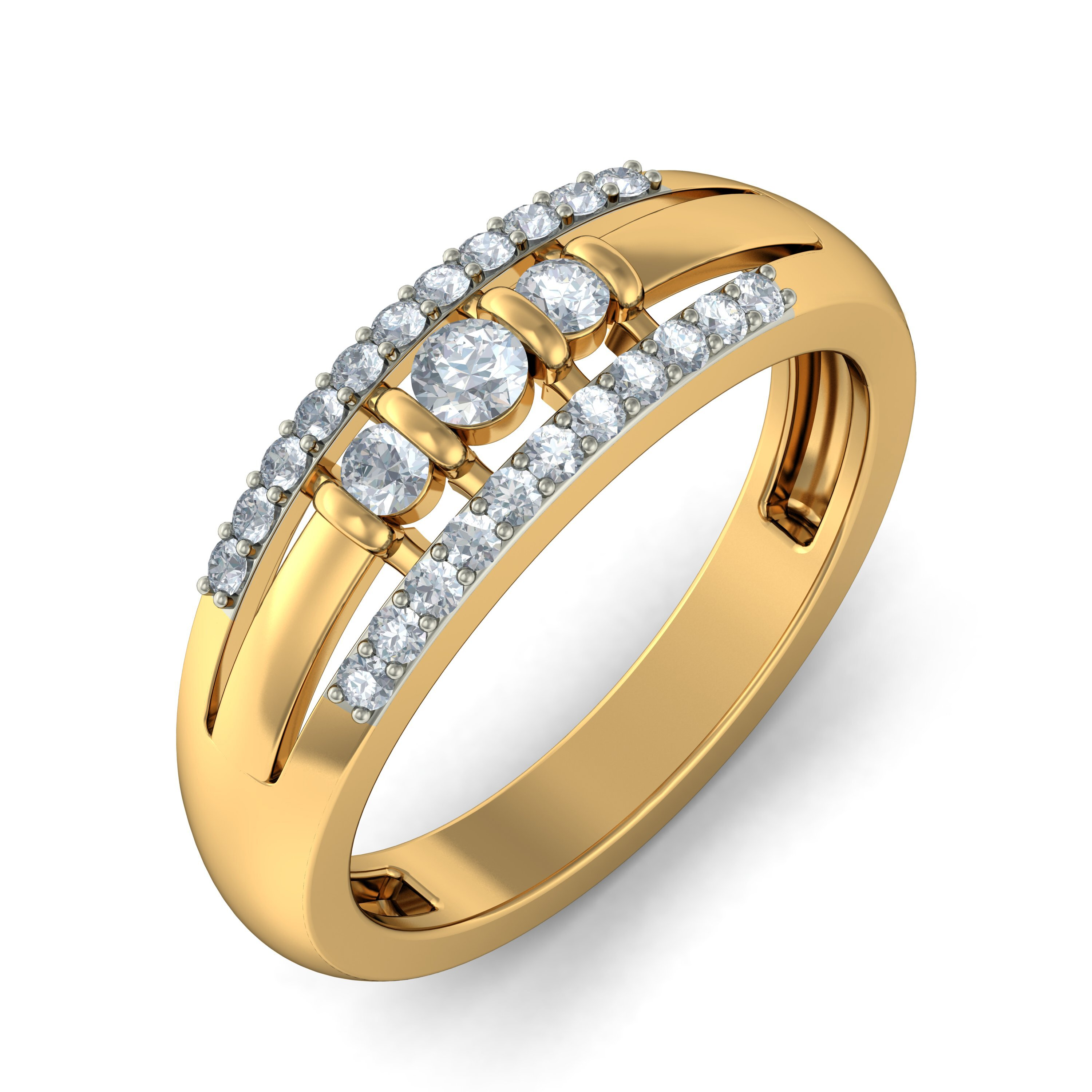 15 Loved Gold Ring Designs For Women  Mostbeautifulthings