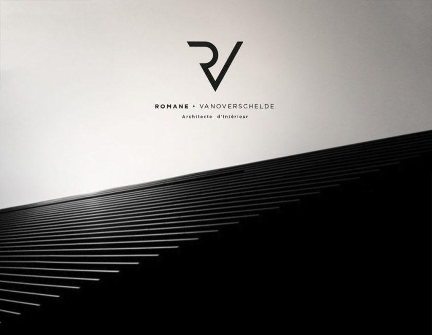 Romane - Architecte d'Intérieur Brand identity
