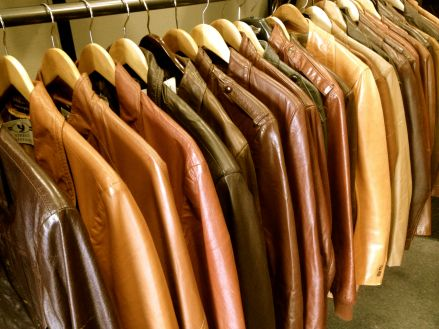 great collection of leather coats