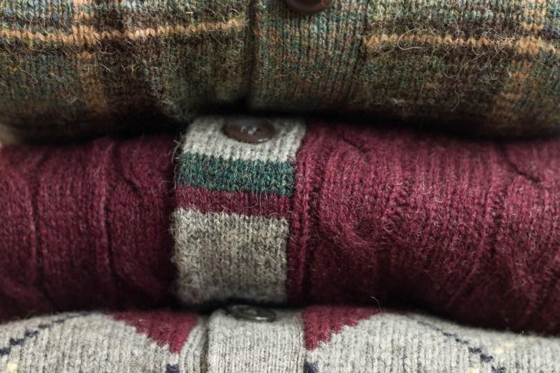 verticl strip sweater