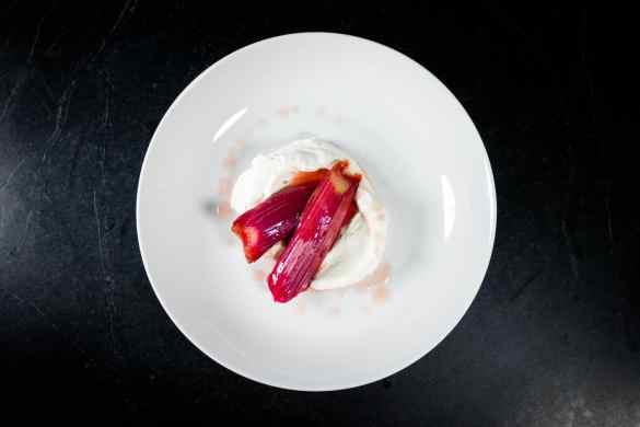 Braised Rhubarb