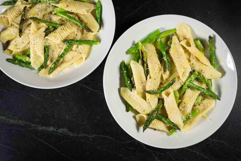 Asparagus and Lemon Garganellli
