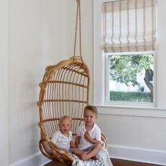 Serena And Lily Hanging Chair Recaro Office Modern New England Beach Cottage For A Young Family | Most Lovely Things