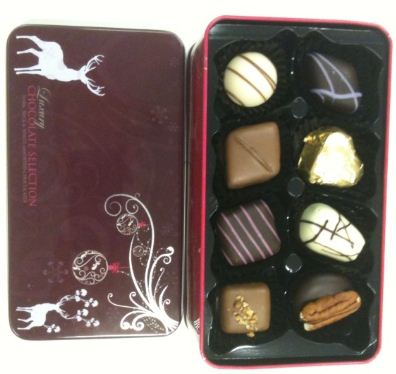 House Of Dorchester Christmas Chocolate Selection Tin