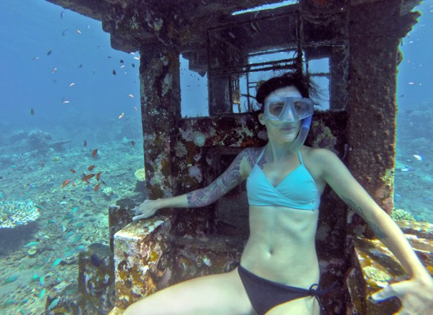 Freediving in Amed Bali