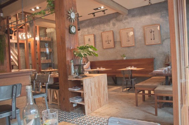 Seven spoons restaurant Bangkok, vegan and vegetarian friendly