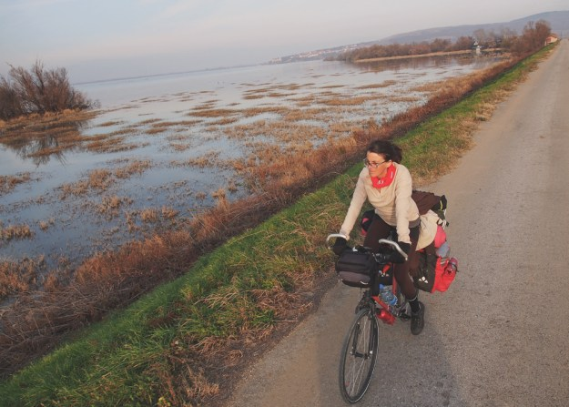 mostly amelie cycling balkans, eastern europe