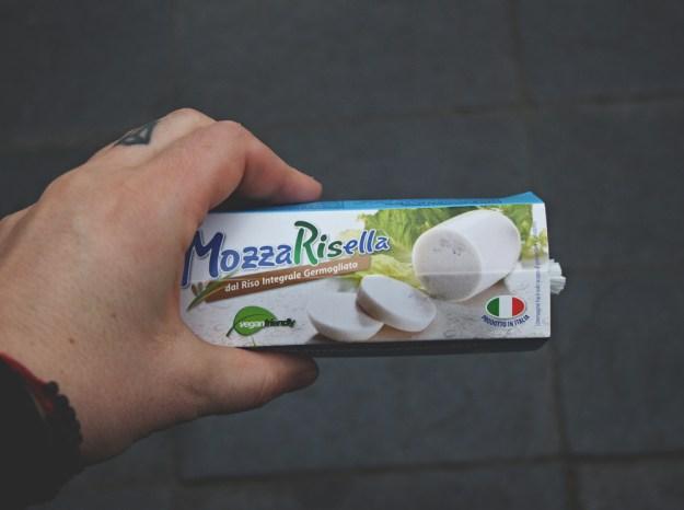 vegan mozarella italy