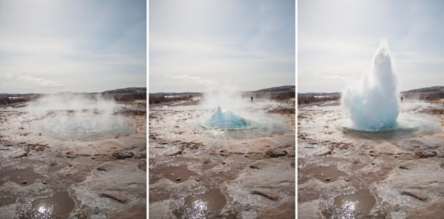 Geysir Geyser Iceland Golden Circle