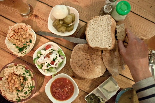Hamarakia restaurant vegan jerusalem