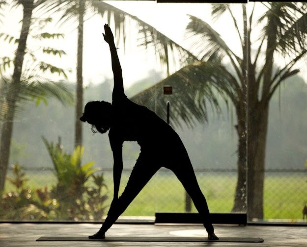 stress release yoga india